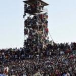 Afrika Kupası'nda taraftar çılgınlığı!