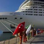 Kruvaziyer turist sayısı yüzde 10 arttı