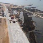 Türk gemisi, Putin'in Kırım köprüsüne çarptı