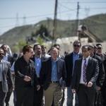 ABD'li senatörlerden Suriyeli sığınmacılara ziyaret