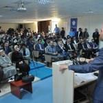 """NEÜ'de """"Yeni Türkiye Yolunda Erbakan'ı Anlamak"""" konferansı"""