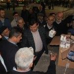 Havza Belediyesi 12 bin kandil simidi dağıttı