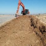Seydişehir'de yol genişletme çalışması