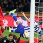 Hertha Berlin ile Hannover puanları paylaştı