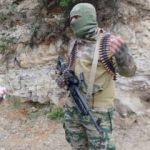 Türkmendağı'nda Şırnaklı bir savaşçı