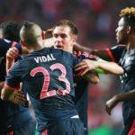 Bayern geriden gelip turladı
