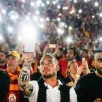 Sneijder o anları böyle kaydetti