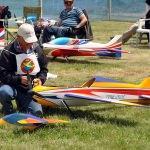 Eskişehir'de model uçak yarışları