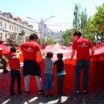 Karadenizli çocukların bayrak sevgisi