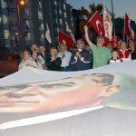 Kocaeli'de gençlik yürüyüşü