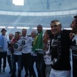 Beşiktaş'ın şampiyonluk töreninde büyük gaf
