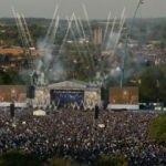 Şampiyon Leicester'dan muhteşem kutlama!