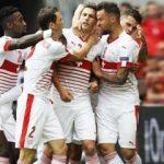 Günün ilk maçında gülen İsviçre!