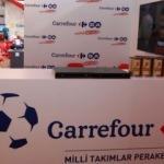 """CarrefourSA """"Milli Takım""""a desteğini sürdürüyor"""
