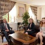 Yunanistan Edirne Konsolosu Charıtıdou'dan Vali Özdemir'e Ziyaret