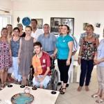 Fanatik Galatasaraylı engelli gence imzalı forma sürprizi