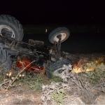 Kahramanmaraş'ta traktör devrildi: 1 ölü, 1 yaralı