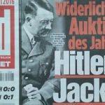 Hitler'in ceketine rekor ücret!