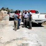 Seydişehir'de yol yapım çalışmaları