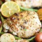 Fırında fasulyeli patatesli tavuk tarifi
