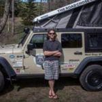 Jeep Wrangler ev oldu!