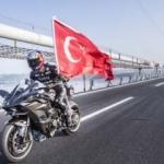Kenan Sofuoğlu Osmangazi Köprüsü'nde 400 km hıza ulaştı! - İzle