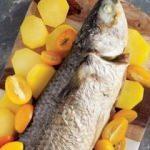 Rezene ve kumkatlı kefal balığı tarifi