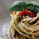 Domates soslu kabak spagetti tarifi