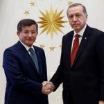 Cumhurbaşkanı Erdoğan, Davutoğlu'yla görüştü