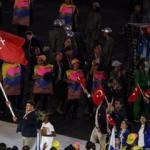 Türkiye'nin bayrağını Rıza Kayaalp taşıdı!