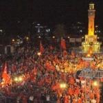 İzmir'de son nöbet coşkusu