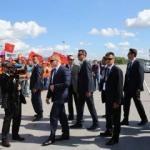 Rusya'da Erdoğan'a sevgi gösterisi!