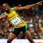 Usain Bolt sahne alıyor!