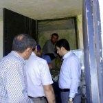 Balışeyh'de içme suyu depolarında temizlik
