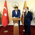 Cumhurbaşkanı Başdanışmanı Malkoç'tan TÜ'ye ziyaret