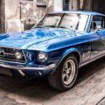 1967 Mustang Fastback tornadan geçti!