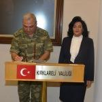 Tümgeneral Alparslan, Vali Civelek'i ziyaret etti