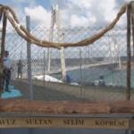 Yavuz Sultan Selim Köprüsü'ne özel börek hazırladı