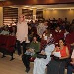 Van'da aday öğretmenlere seminer