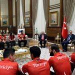 Beştepe'de Erdoğan'ın sürpriz konukları