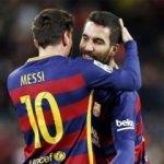 Messi'den Arda Turan'a veda mesajı