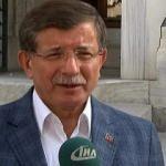 Davutoğlu, bayram namazını İstanbul'da kıldı