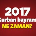 2017 Kurban bayramı hangi güne denk geliyor?
