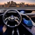 Lexus UX concept'in ilginç iç mekanı