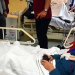 Böbrek hastası çocuğa, forma ve PlayStation hediye edildi
