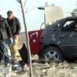 Patlamada Türk bayrağı ayrıntısı!