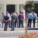 Trabzon Akyazı Stadın'da canlı yayın arbedesi