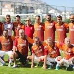 Eski futbolcular Antalya'da buluştu