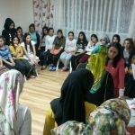 AK Parti Kadın Kollarından TÜRGEV yurduna ziyaret