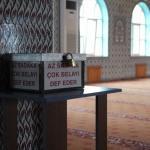 Camiye giren hırsız bu kez eli boş döndü